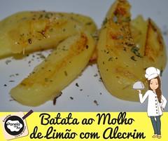 Batata ao Molho de Limão com Alecrim (1)