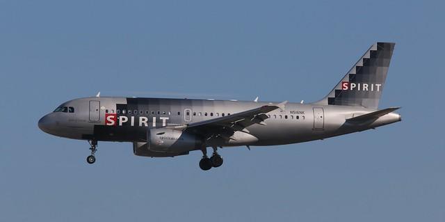 Spirit NK 424 Flight Status - SpotterLead