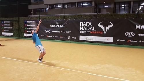 Asistencia Rafa Nadal y Marca Sevilla Programa de Tecnificación Autonómica