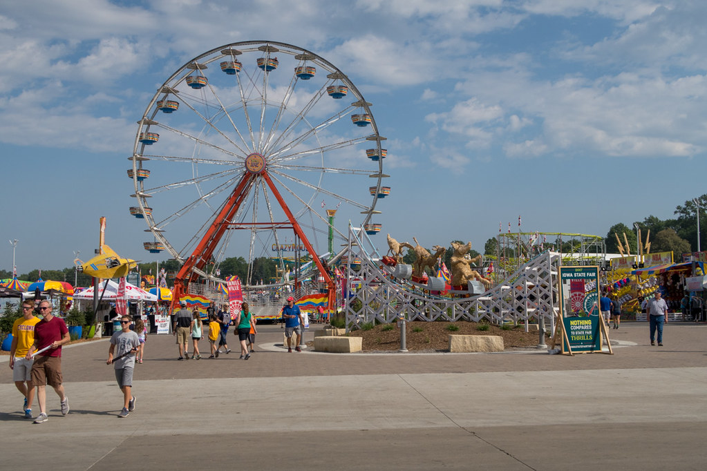 Ferris Wheel at Iowa State Fair