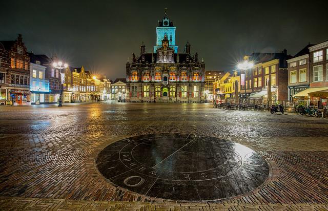 Night in Delft