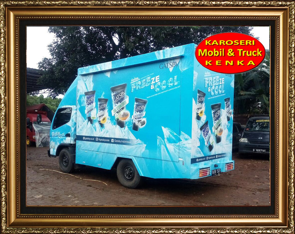 Karoseri Truck Promosi Gasby - 3