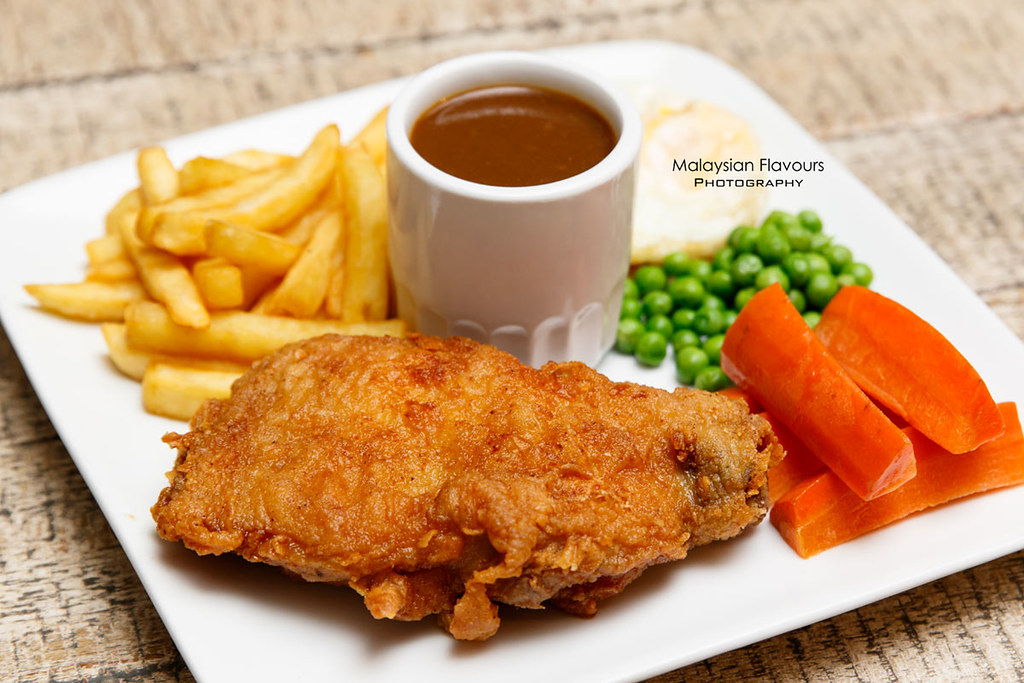 Don's Warong chicken chop