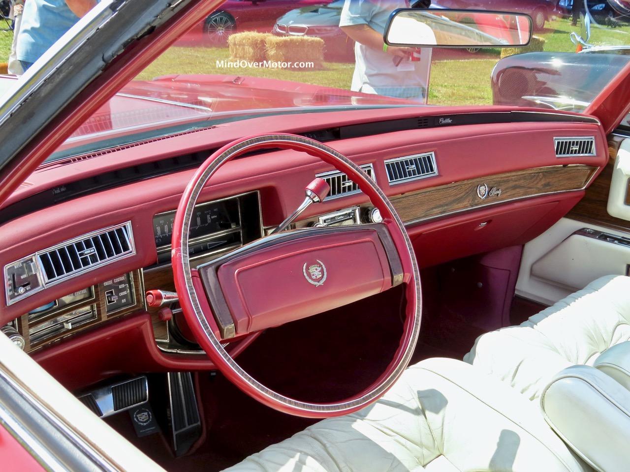 Red Cadillac Eldorado Convertible Front
