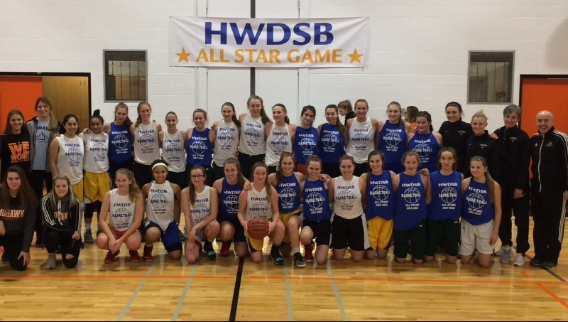 2017-18 HWDSB Girls All Star Classic
