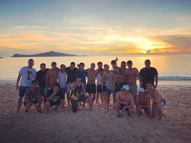 [Instagram] Jihong Kim (superfine_jihong) Beach Soccer for tequila #international #vs #korean #지면 #테킬라 2017-12-10