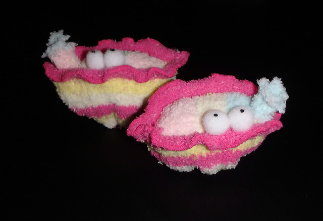 How to make plushie Giant clams