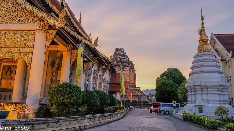 Wat Chedi Luang, Chiang Mai, Tailandia