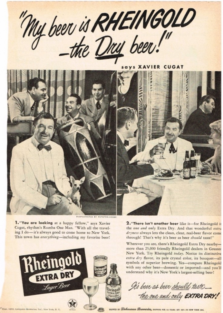 Rheingold-1950-xavier-cugat