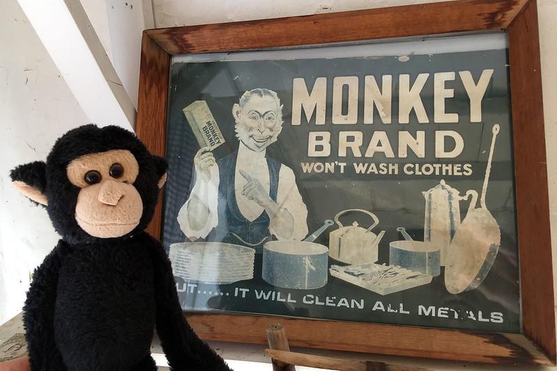 Monkey Brand soap