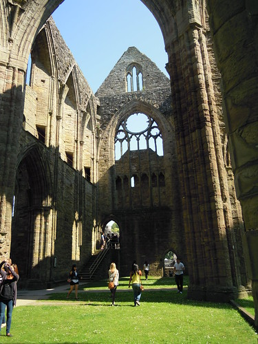 Tintern Abbey. From Studying Abroad in London: The Best Stops in Wales!