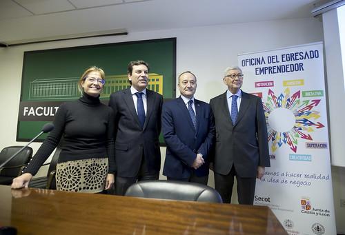 Presentación Oficina del Egresado Emprendedor en Valladolid