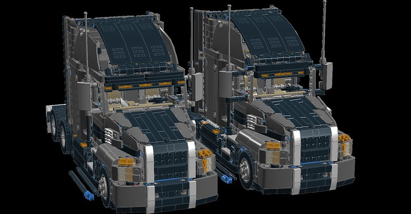 42078 Mack Anthem Mods and improvements - LEGO Technic and Model