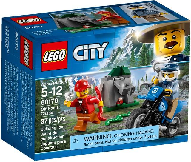超有趣的樹幹人必收!! LEGO 60170、60171、60174、60176 城市系列 高山警察盒組整理 2018年上半部分盒組 Part 2!!