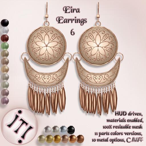 !IT! - Eira Earrings 6 Image - TeleportHub.com Live!