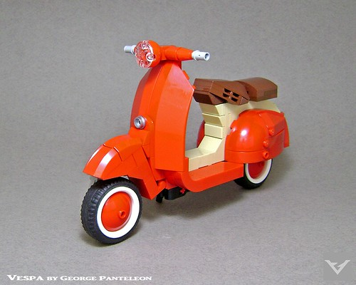 Vespa - LEGO Ideas project