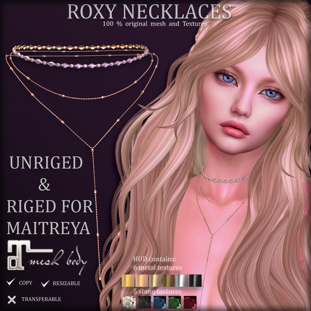 ROXY Necklaces at COSMOPOLITAN