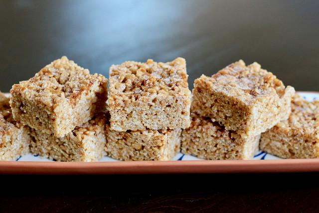 Cinnamon Cajeta Rice Crispy Treats - 22