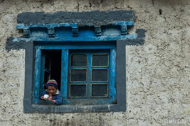 Niño en Lamayuru