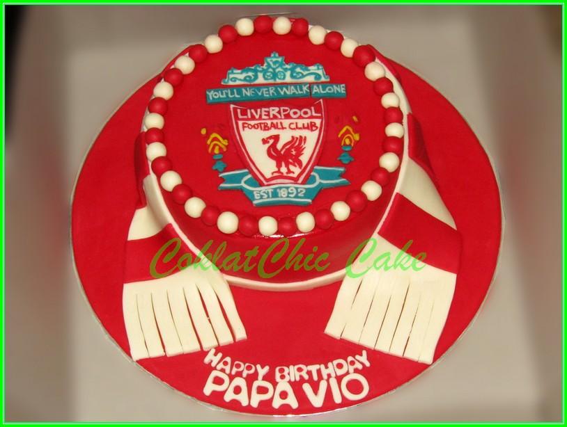 Cake Liverpool PAPA VIO 15cm