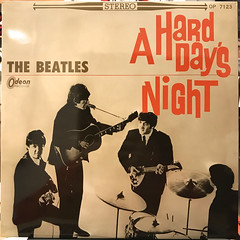 THE BEATLES:A HARD DAY'S NIGHT(JACKET A)