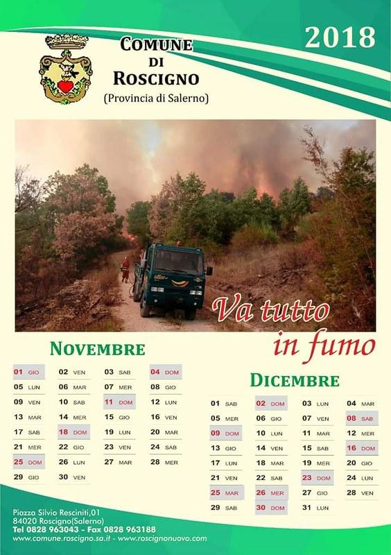 calendario roscigno 2