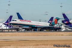 N910FJ Mesa Airlines   Bombardier CRJ-900ER   Memphis International Airport
