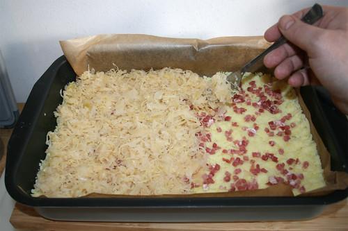 20 - Sauerkraut zupfen & auftragen / Put on plucked sourcrout