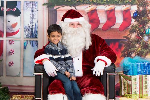 Santa at Teecs-25