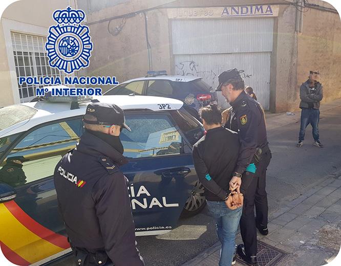 Policía Nacional desmantela un grupo criminal especializado en robos con fuerza en viviendas