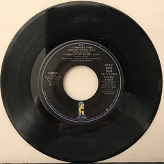 U2:WITH OR WITHOUT YOU(RECORD SIDE-B)