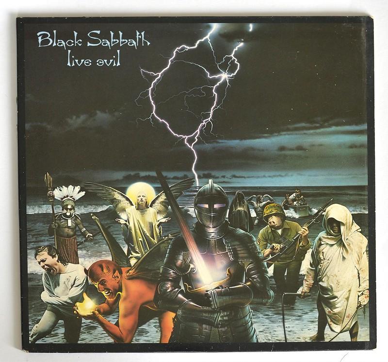 A0411 BLACK SABBATH Live Evil
