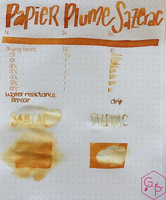 Ink Shot Review @Papier_Plume Sazerac @cohobbyist 4