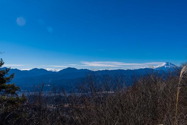 丹沢と富士山@熊倉山