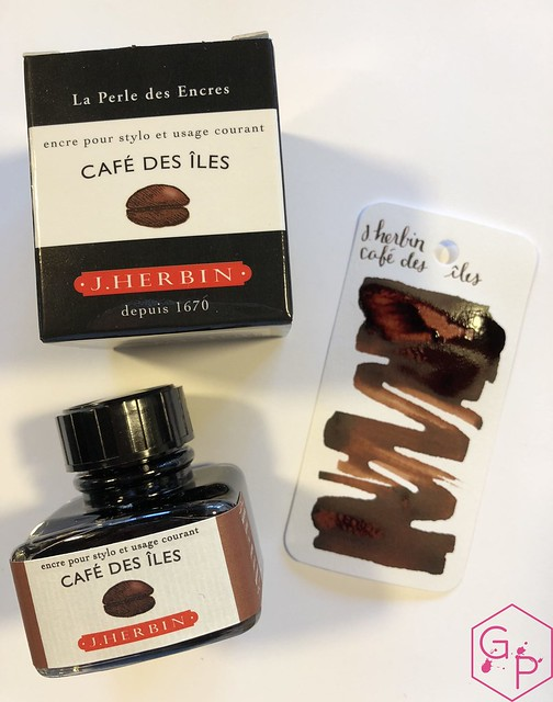 Ink Shot Review J. Herbin Café des îles @KnightsWritingC 10