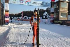 Česká hrdinka na Čínském Vasově běhu