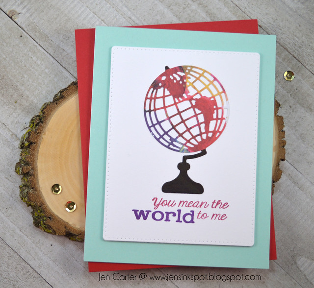 Jen Carter Globe World Space Sentiments