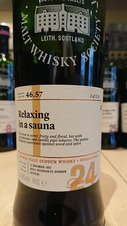 SMWS 46.57 - Relaxing in a sauna