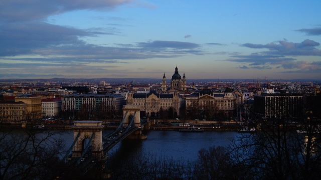 Sunset in budapest, Sony SLT-A37, Sony DT 18-55mm F3.5-5.6 SAM (SAL1855)