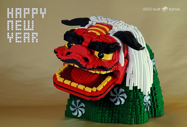 LEGO MasqueShishimai et Nouvel An
