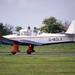 Percival P.40 Prentice T1 G-AOLK North Weald 13-5-89
