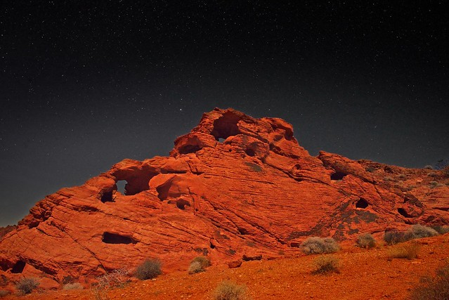 Valley of Fire and Stars 5859 C