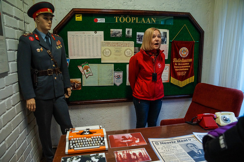 KGB museum tour
