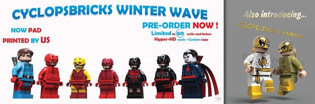 Cyclopsbricks 2017 Winter Wave- Pre-Order