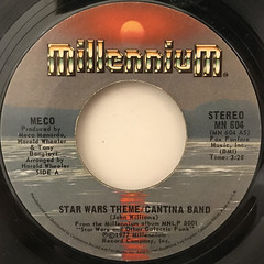 MECO:STAR WARS THEME:CANTINA BAND(LABEL SIDE-A)