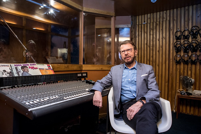 2. Björn Ulvaeus opens ABBA Super Troupers at Southbank Centre credit Victor Frankowski