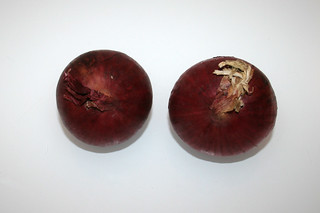 10 - Zutat rote Zwiebeln / Ingredient red onions