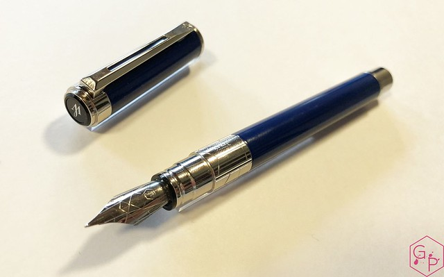 Review Waterman Perspective Fountain Pen @KnightsWritingC 16