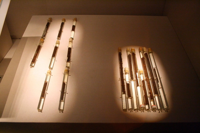 Inscribed bamboo-slips of The Art of War by Sun Tzu, unearthed in Yinque Mountain, Linyi, 140 BC