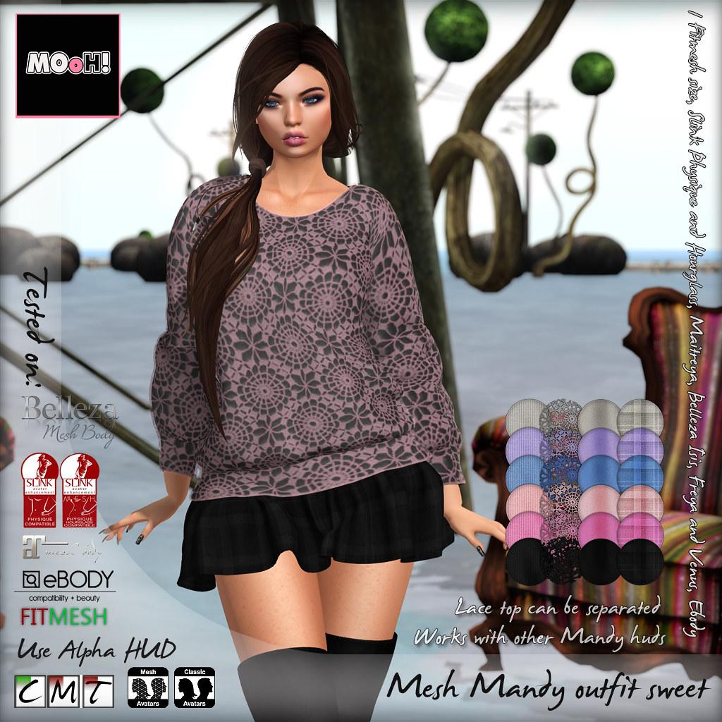 Mandy outfit Sweet - TeleportHub.com Live!